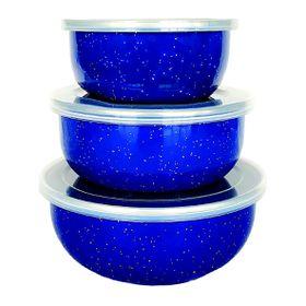 Afritrail - Enamel Storage Bowl Set