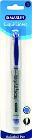 Marlin Liqui-Liners 0.7mm Rollerball Pen - Blue
