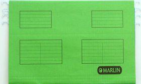 Marlin Foolscap Suspension Folders - Green (Pack of 25)