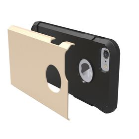 Tuff-Luv Twin Armour TPU Case for Apple iPhone 7 - Goldÿ