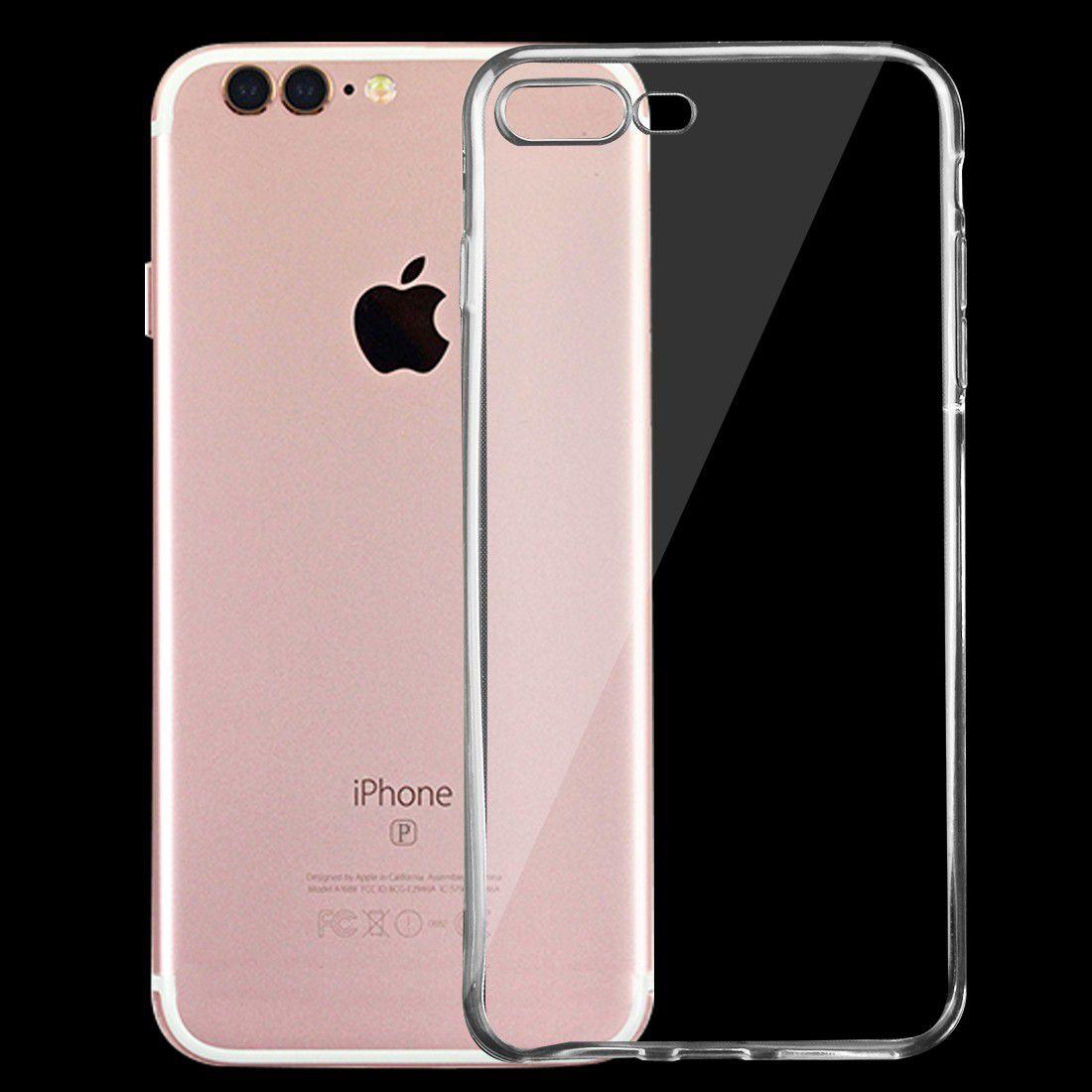 Tuff Luv Minimalist Ultra Thin Transparent TPU Case For Apple IPhone 7Plus    Clear