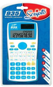 Scripto 935 Scientific Calculator - Blue/White