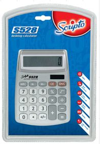 Scripto S528 Semi Desk Calculator
