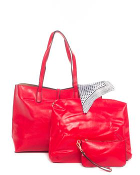Brad's Riviera Tote - Red