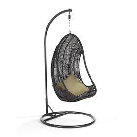 Cielo - Atilla Hanging Chair - Black
