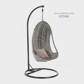 Cielo - Atilla Hanging Chair - Stone