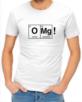 JuiceBubble Mens Omg! T-Shirt - White