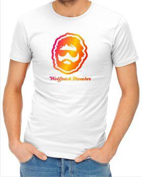 JuiceBubble Mens Wolfpack Member T-Shirt - White