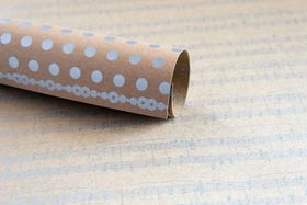 Lady Pattern Paper Kraft Essentials Sheet Music - Metallic Silver (10 Sheets)