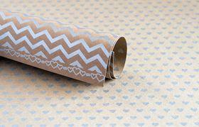 Lady Pattern Paper Kraft Essentials Sweetheart - Metallic Silver (10 Sheets)