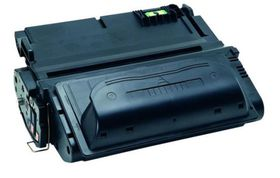 HP Compatible 38A (Q1338A) Laser Toner Cartridge - Black