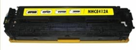 HP Compatible CE412A/305A Laser Toner Cartridge - Yellow