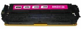 HP Compatible CE413A/305A Laser Toner Cartridge - Magenta
