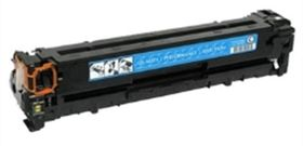 HP Compatible CE321A/128A Laser Toner Cartridge - Cyan