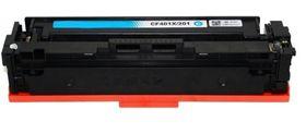 HP Compatible CF401X/201X Laser Toner Cartridge - Cyan