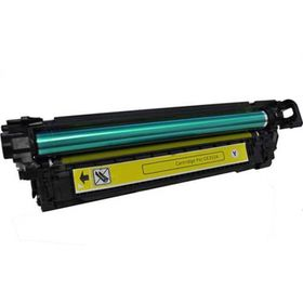 HP Compatible CE252A/504A Laser Toner Cartridge - Yellow