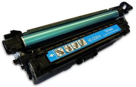 HP Compatible CE401A/507A Laser Toner Cartridge - Cyan