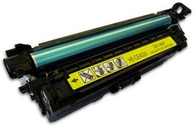 HP Compatible CE402A/507A Laser Toner Cartridge - Yellow