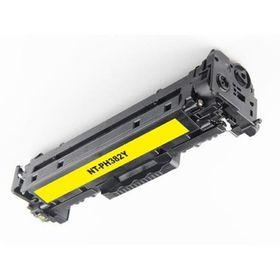 HP Compatible CF382A/312A Laser Toner Cartridge - Yellow
