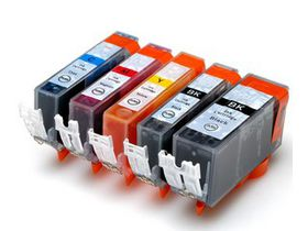 Compatible Ink Canon 450XL & 451XL Value Pack Combo Deal (B,C,M,Y) - Black & All Colours