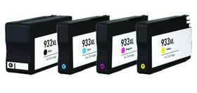 Compatible Ink HP 932XL & 933XL Value Pack Combo Deal (B,C,M,Y) - Black & All Colours