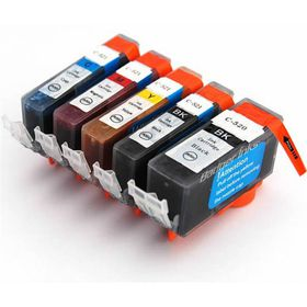 Compatible Ink Canon 520 / 521 Value Pack Combo Deal (B,C,M,Y) - Black & All Colours