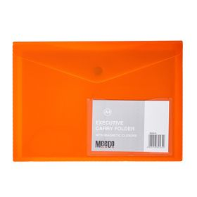 Meeco A4 Executive Carry Folder - Orange