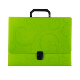 Meeco 24 Division Expanding File - Translucent Green