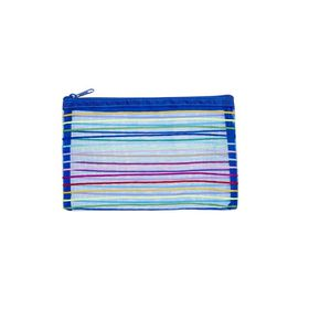 Meeco Mesh Small (21cm) Pencil Bag - Blue