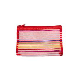 Meeco Mesh Small (21cm) Pencil Bag - Red