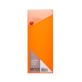 Meeco Sliding Pencil Case - Orange