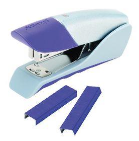 Rexel Gazelle Half Strip Stapler - Purple