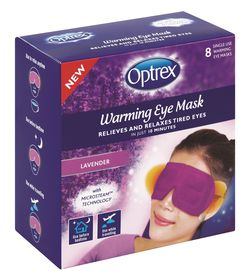 Optrex Warming Eye Mask - 8's Lavender