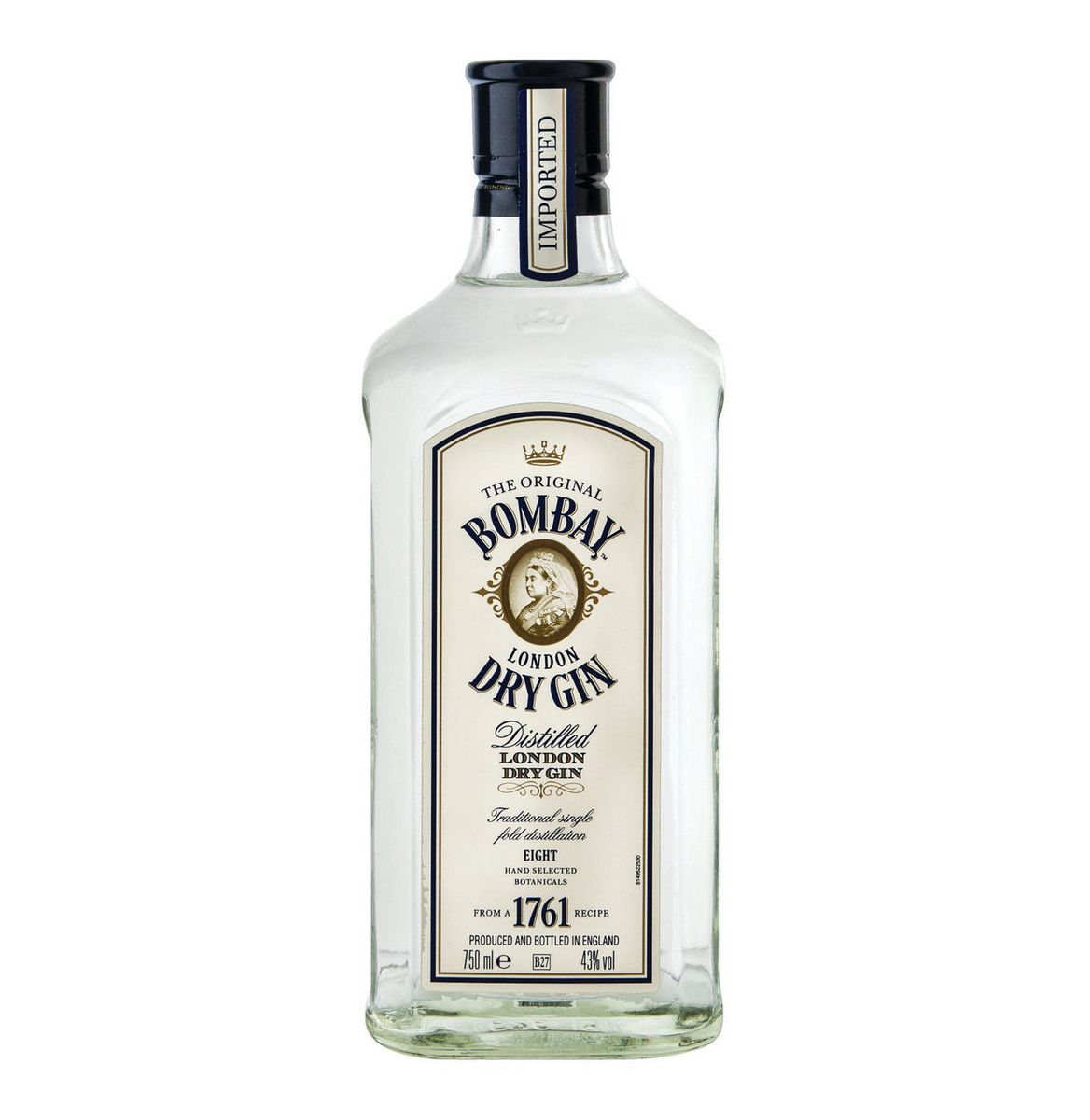 Bombay Sapphire Bombay Gin Dry Gin 12 X 750ml 103010