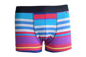 Undeez Sunrise Stripes Body Fit Boxer
