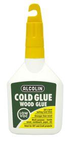 Alcolin Cold Glue Wood Glue - 125ml Bottle