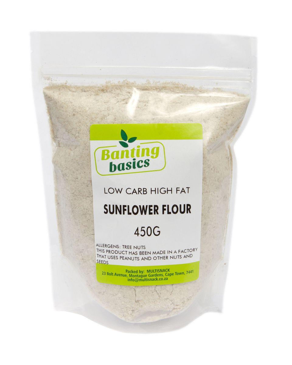 banting basics - sunflower flour