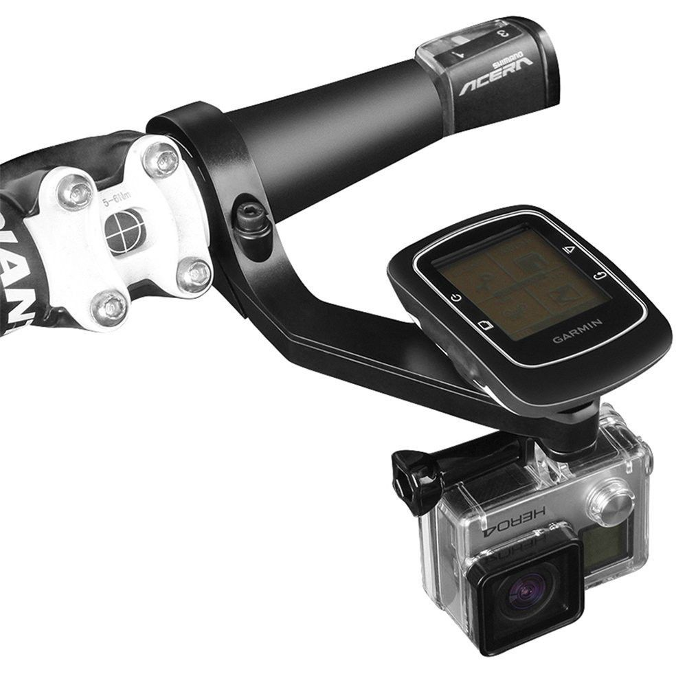 Capture all your action on the bike with your GoPro camera! Place this Gopro mount on the handlebars of the bike and capture what's happening in front of you, or.