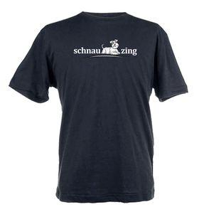 Schnauzing Design Unisex Fit Short Sleeve T-Shirt - Black