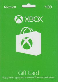 Xbox Live Gift Card R100