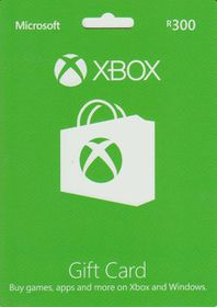 Xbox Live Gift Card R300