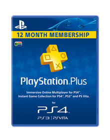 PlayStation Network Card Plus 365 day (PS4/PS3/PSP/PS Vita)