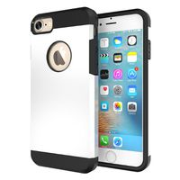 Slim Armour Protective Case for iPhone 7 Plus - White
