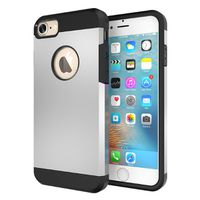 Slim Armour Protective Case for iPhone 7 Plus - Silver