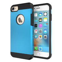 Slim Armour Protective Case for iPhone 7 - Blue