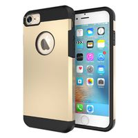 Slim Armour Protective Case for iPhone 7 - Gold