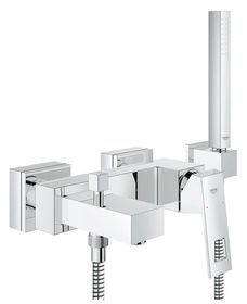 Grohe - Eurocube Bath Tap With Diverter For Bath and Shower