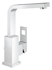 Grohe - Eurocube Pop-Up Waste Basin Tap - High Spout