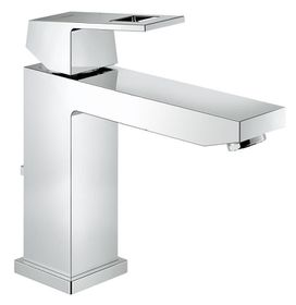 Grohe - Eurocube Pop-Up Waste Basin Tap - Medium High Spout