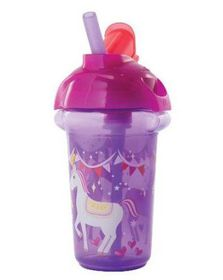 Munchkin - Click Lock Decorated Flip Straw Cup